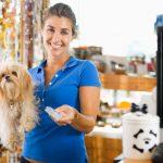 Mix de produtos para pet shop