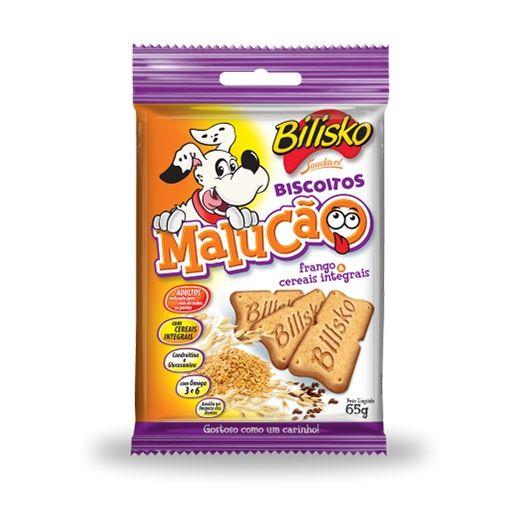 Biscoito Malucão Frango e Cereais (Cx 15 Un)