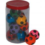 Pote Bola Futebol Pequena c/ 12 unidades