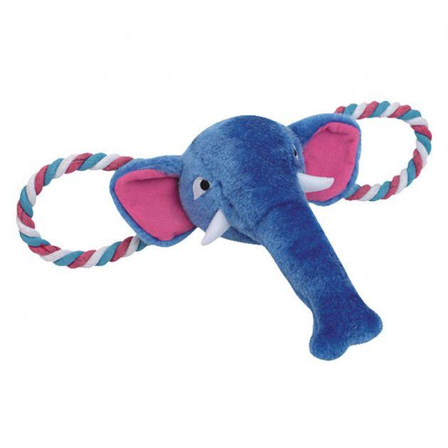 Brinquedo Pelúcia Elefante c/ corda