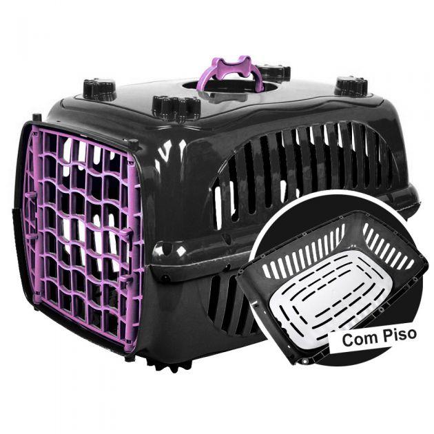 Caixa Transporte Black com Piso N.2