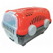 Caixa Transporte Luxo Vermelha N.3