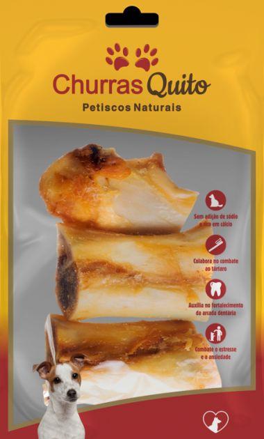 Canelinha Natural Osso Suíno c/ 2 un