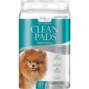 Tapete Higiênico Clean Pads c/ 7 unid