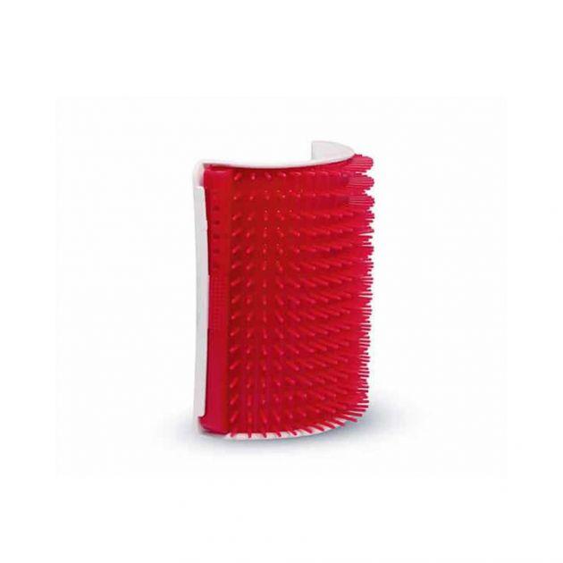 Escova Massageadora Coçadinha Truqys Vermelha
