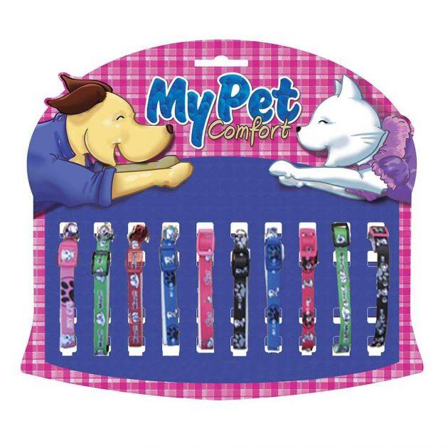 Coleiras Pet Atacado Gato Mista - Kit 10 un