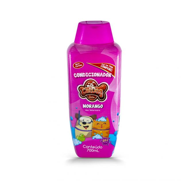 Condicionador Creme Catdog Morango 700ml