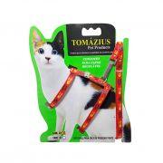 Conjunto Regulável - Peitoral para Gatos