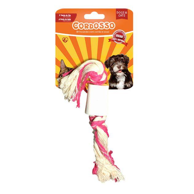 Cordosso Mini - Brinquedo com Corda e Osso