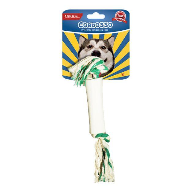 Cordosso Pequeno - Brinquedo com Corda e Osso