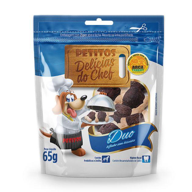 Delicias do Chef Duo Bifinho com Biscoito 65g