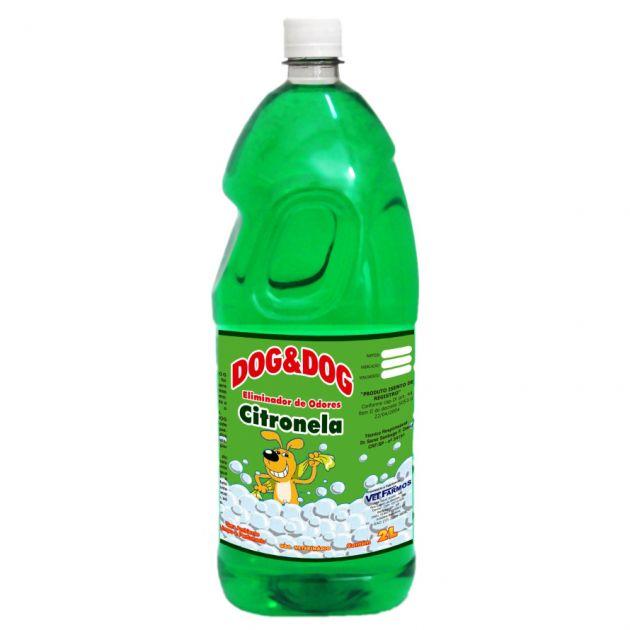 Eliminador De Odor Dog&Dog Citronela 2L
