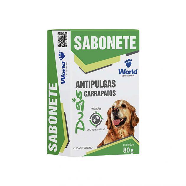 Dug's Sabonete Antiparasitário (80g)