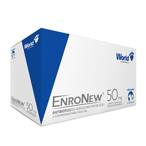 Enronew 50mg (10 kg) Display c/ 150 comp. | Antibiótico