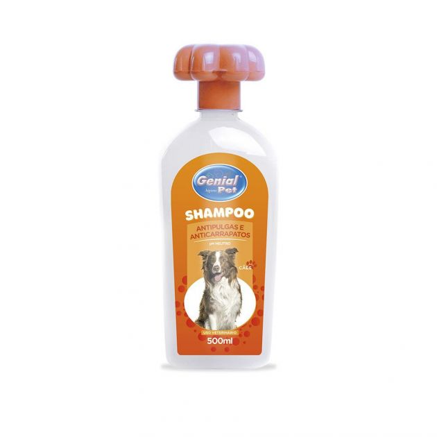 Shampoo Genial Pet Anti-Pulgas (500ml)