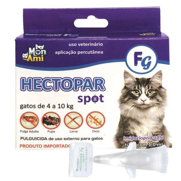 Hectopar Spot Fg Gato (4 A 10Kg) | Antipulga