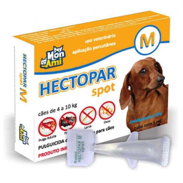 Hectopar Spot M Cães (de 4 A 10 Kg) | Antipulga