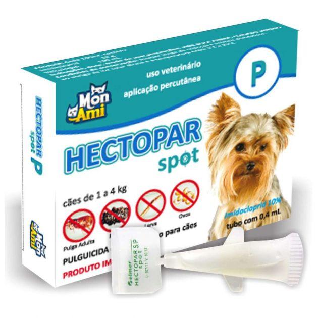 Hectopar Spot P Cães (de 1 A 4 Kg) | Antipulga