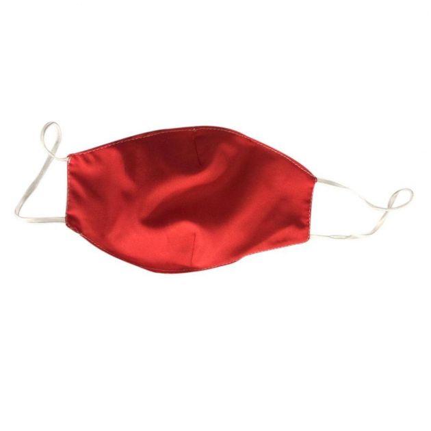 Máscara Protetora Lavável Lisa - Dupla Camada - 1 unidade