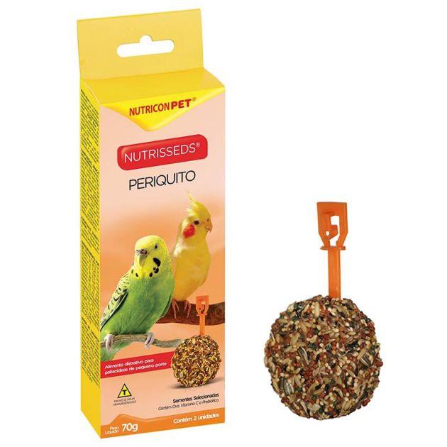 NutriSeeds Periquito (70g) - Alimento