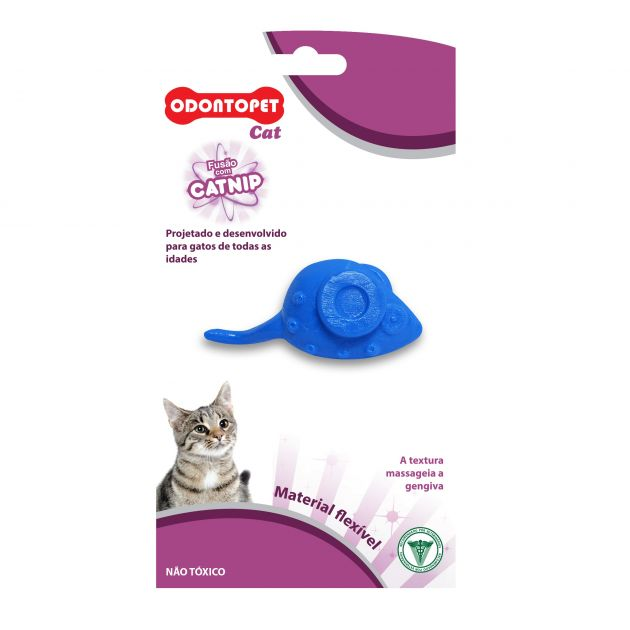 Odontopet Cat Mouse Catnip