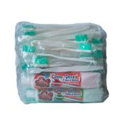 Pacote c/ 50 Escovas e 2 Cremes Dental 90g - p/ Banho e Tosa