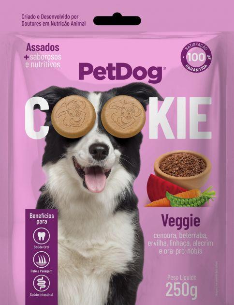 Pet Dog Cookie Veggie - p/ Cães