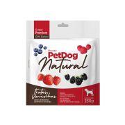 Pet Dog Natural Frutas Vermelhas 150g