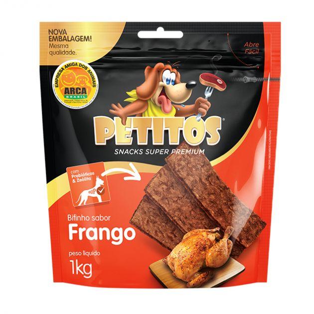 Petitos Bifinho Sabor Frango 1kg