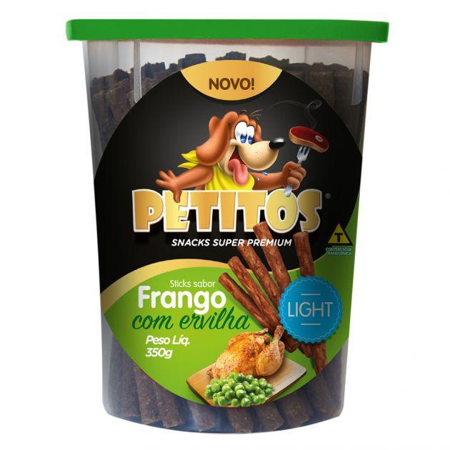 Petitos Stick Ligth Frango Ervilha 350g
