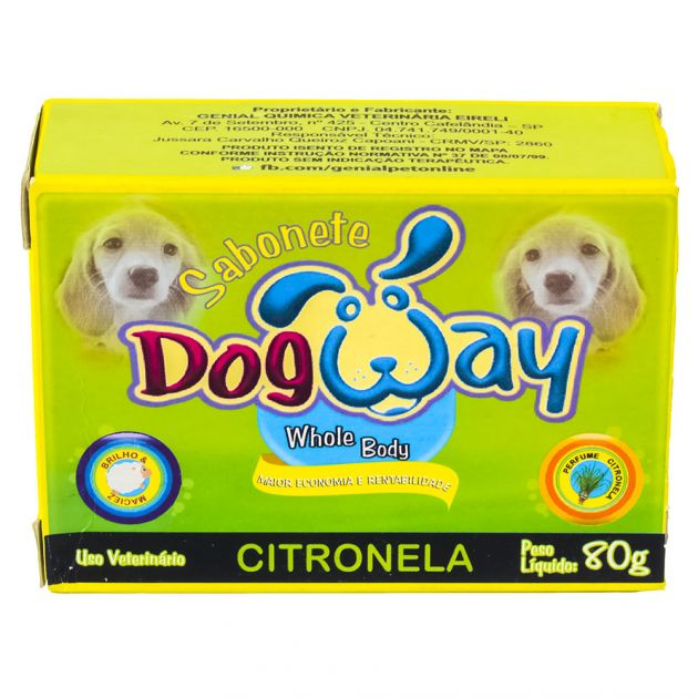 Sabonete Dog Way Citronela 80G