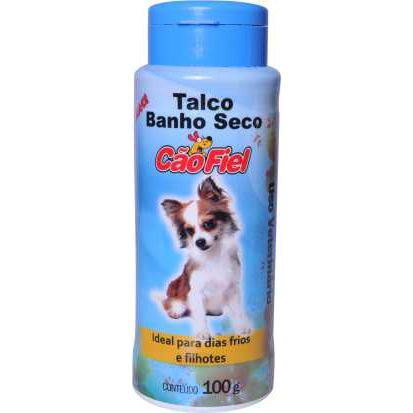Talco Banho Seco Cao Fiel 100g