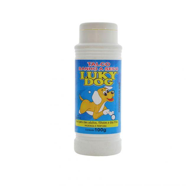 Talco Luky Dog Banho a Seco 100g