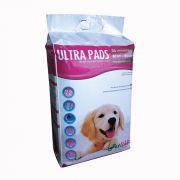 Tapete Higiênico Ultra Pads c/ 30 unid - 60x60cm para Cães